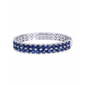Azure Sky Diamond Bangle