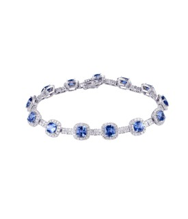 Cobalt Cloud Bracelet
