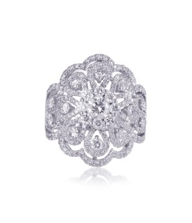 Heaven Flora Diamond Ring