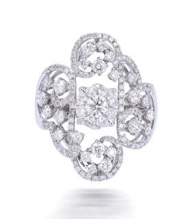 Majesty Seal Diamond Ring