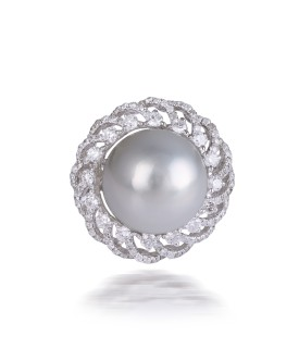 Pearl Storm Ring
