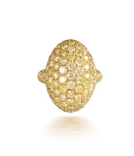 Golden Dome Ring